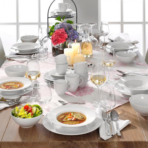 Friesland,'La Belle white' Tableware kombi 42-piece set