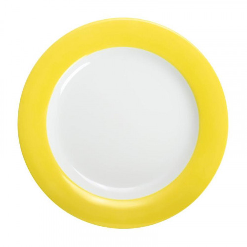 Kahla,'Pronto Colore zitronengelb' Dining plate 26 cm