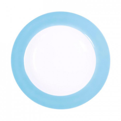 Kahla,'Pronto Colore himmelblau' Flat plate for business lunch 23 cm