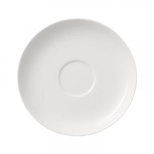 Villeroy & Boch,'For Me weiss' Mocha / espresso cup saucer 12 cm