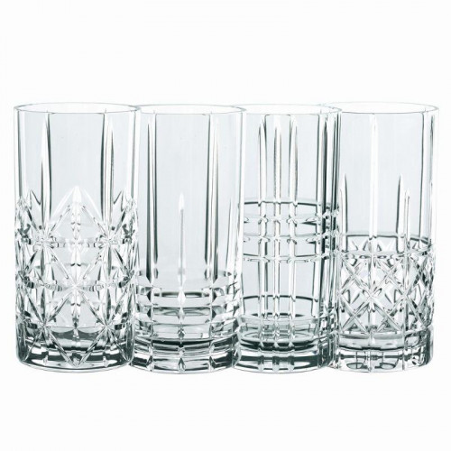Nachtmann,'Highland' Longdrink glass 4-piece set 445 ml