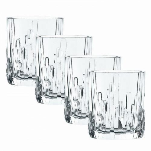 Nachtmann,'Schu Fa' Whisky Tumbler Glass Set 4 pcs 330 ml