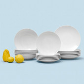 Thomas Loft Weiß Plate Set 18 pcs