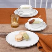 Seltmann Weiden Lido Black Line Tea Set 18 pcs.