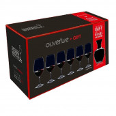 Riedel Glasses Overture Ouverture Glass Set 6x Magnum + Apple Decanter 7 pcs.