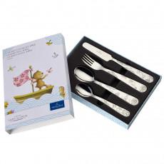 Villeroy & Boch Happy as a Bear children's cutlery set 4 pcs.