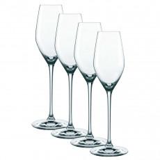 Nachtmann,'Supreme' Champagne XL Set 4 pcs