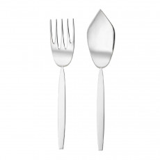 Robbe & Berking 12 - 925 Sterling Silver Fish serving cutlery 2 pcs.