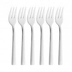 Zwilling dinner stainless steel 18/10 cake fork set 6-pcs. 16 cm
