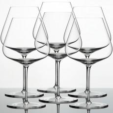 Zalto Glasses 'Zalto Denk'Art' Burgundy Glass 6 pcs Set 23 cm