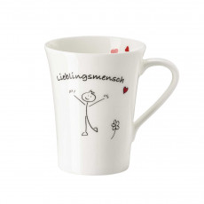 Hutschenreuther My Mug Collection Wort - favourite human cup with handle 0,40 L