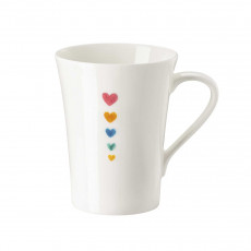 Hutschenreuther My Mug Collection Love - Small hearts cup with handle 0,40 L