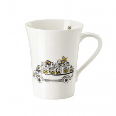 Hutschenreuther My Mug Collection Bees - On the road mug with handle 0,40 L