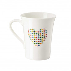 Hutschenreuther My Mug Collection Love - Heart of hearts cup with handle 0,40 L