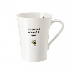 Hutschenreuther My Mug Collection Bees - Don't go cup with handle 0,40 L