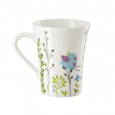 Hutschenreuther My Mug Collection Birdie - Blue Mug with handle 0,40 L