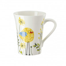 Hutschenreuther My Mug Collection Birdie - Yellow Mug with handle 0,40 L