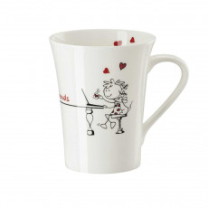 Hutschenreuther My Mug Collection Friends - Forever mug with handle 0,40 L