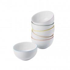 Arzberg Porcelain,'Cucina Colori' Bowl Set 6 pcs