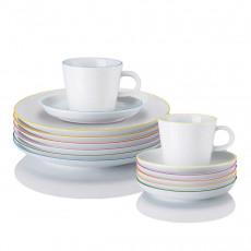 Arzberg Porcelain,'Cucina Colori' Coffee Set 18 pcs