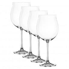 Nachtmann,'Vivendi Premium - Lead Crystal' Burgundy Goblet,4 pcs set,897 ml