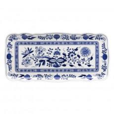 Hutschenreuther 'Blue Onion Pattern' Pie Platter Rectangular 33 x 15.5 cm