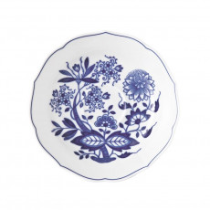 Hutschenreuther 'Blue Onion Pattern' Coffee Saucer with Indentation for a Cup,14 cm