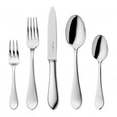 Robbe & Berking Dinner for two - Eclipse 150 gramm versilbert Dinner cutlery gift-wrapped 10-piece set