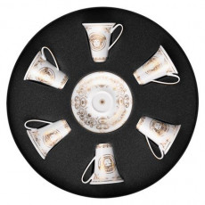 Rosenthal Versace,'Medusa Gala' Set 6 pcs Espresso/Mocca cup 0.09 L
