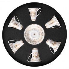 Rosenthal Versace,'Medusa Gala Gold' Set 6 pcs Espresso/Mocca cup 0.09 L