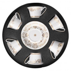 Rosenthal Versace,'Medusa Gala Gold' Set 6 pcs Tea cup 0.22 L
