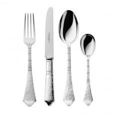 Robbe & Berking Jubiläumsbesteck Hermitage - 140 Jahre Silberschmiedekunst Table/menu cutlery set,24 pcs,silvered 150 g