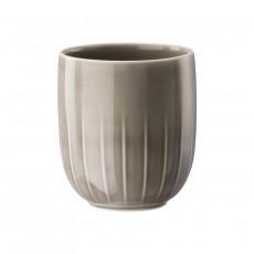 Arzberg,'Joyn Grau' Mug without Handle 0.42 l / d: 8.5 cm / h: 10 cm
