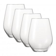 Spiegelau Gläser,'Authentis Casual' All purpose XXL glass mug set of 4 pcs 630 ml