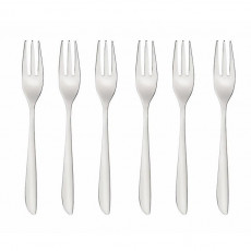 Sambonet,'Leaf Edelstahl 18/10' Pastry / pie / cake fork 6-piece set