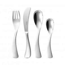 Sambonet,'Kids - Edelstahl rostfrei' Kids Cutlery Set 'Mix',4 pcs