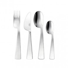 Sambonet,'Kids - Edelstahl rostfrei' Kids Cutlery Set 'Conca Gio Ponti',4 pcs