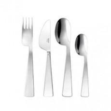Sambonet,'Kids - Edelstahl versilbert' Kids Cutlery Set 'Conca Gio Ponti',4 pcs