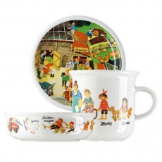 Arzberg 'In the Country' Set for children gift-wrapped 3 pcs