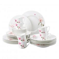 Rosenthal Jade Magnolie Dinnerware combined set,30 pcs