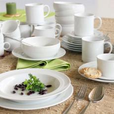 Friesland Jeverland Weiß Combi tableware set 42 pcs