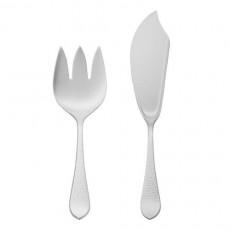 Robbe & Berking Martele Fish Serving Cutlery 925 Sterling Silver