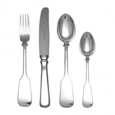 Robbe & Berking Alt-Spaten 150 g Cutlery Dinner Set 4 pcs 150 grams solid silvered