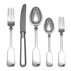 Robbe & Berking Alt-Spaten 925 Cutlery Dinner Set 30 pcs 925 Sterling Silver