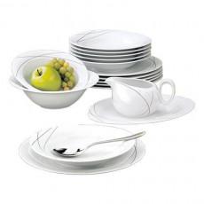 Seltmann Weiden,'Trio Highline' Dinner Service,16 pcs