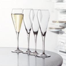 Spiegelau Gläser,'Willsberger Anniversary 30 Jahre Jubiläums-Set' Champagne Flute Set,4 pcs