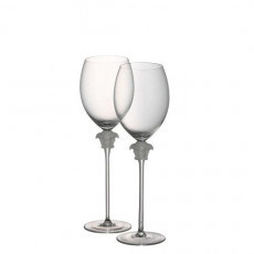 Rosenthal Versace,'Medusa Lumiere' Red Wine Set of 2 in Gift Box 0,48 L