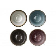 Bitz Gastro grey / light Thermal mug 0,27 L set 4 pcs.