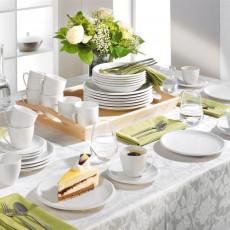 Friesland,'Ecco white' Combi tableware set 36 pcs