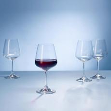 Villeroy & Boch,'Ovid Kristallglas' Drinking glass for red wine 4-piece set 0.59 L / h: 215 mm